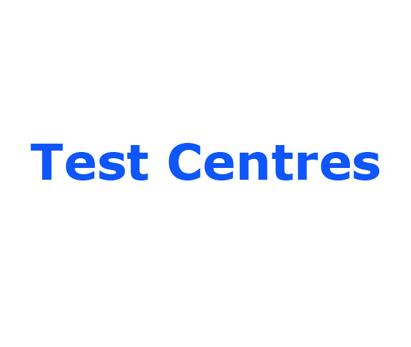 Test Centres